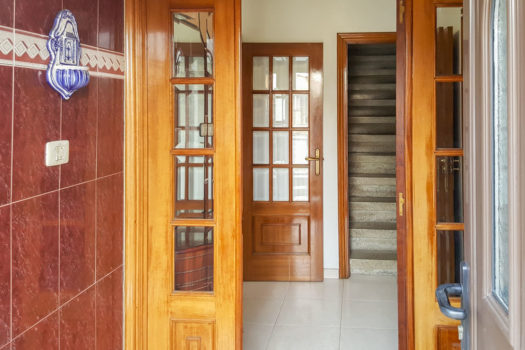 Casita con patio se vende en Alvedro